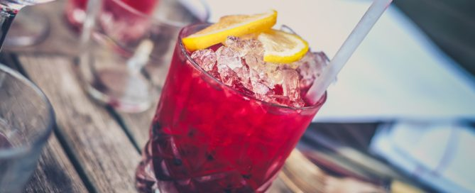 cranberry vodka spritzer cocktail recipe_green hope